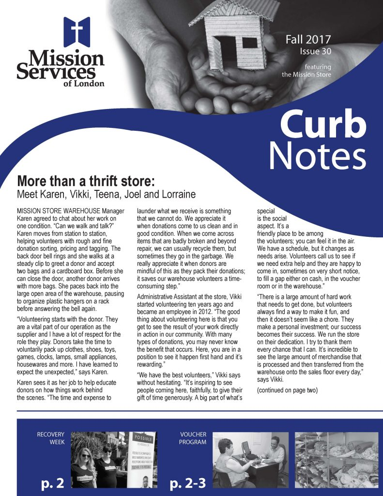 Curb Notes Fall 2017