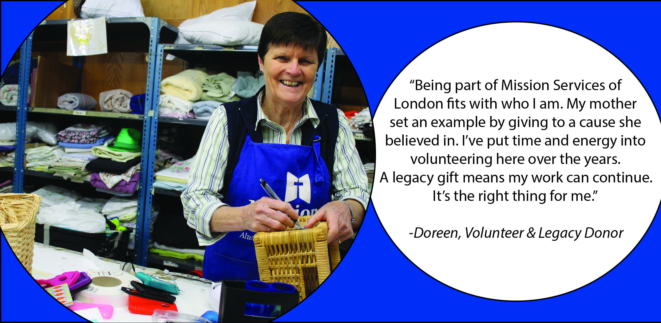 Mission Services of London   Begin a Legacy