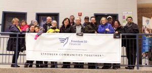 London's CNOY top fundraising team: Freedom 55 Financial Freedom Walkers