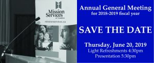 Save the Date - AGM 2019