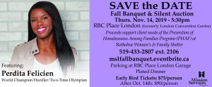Fall Banquet & Silent Auction Save the Date - November 14, 2019